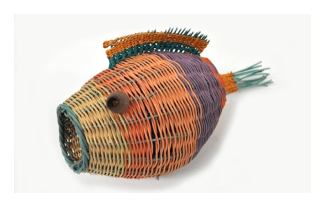 Woven Fish 2013, Image courtesy Boolarng Nangamai Aboriginal Art & Culture Studio.